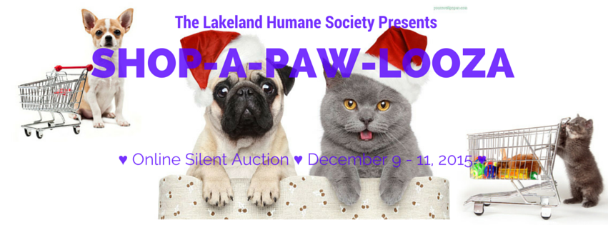 Shop-a-paw-looza Donations & Links