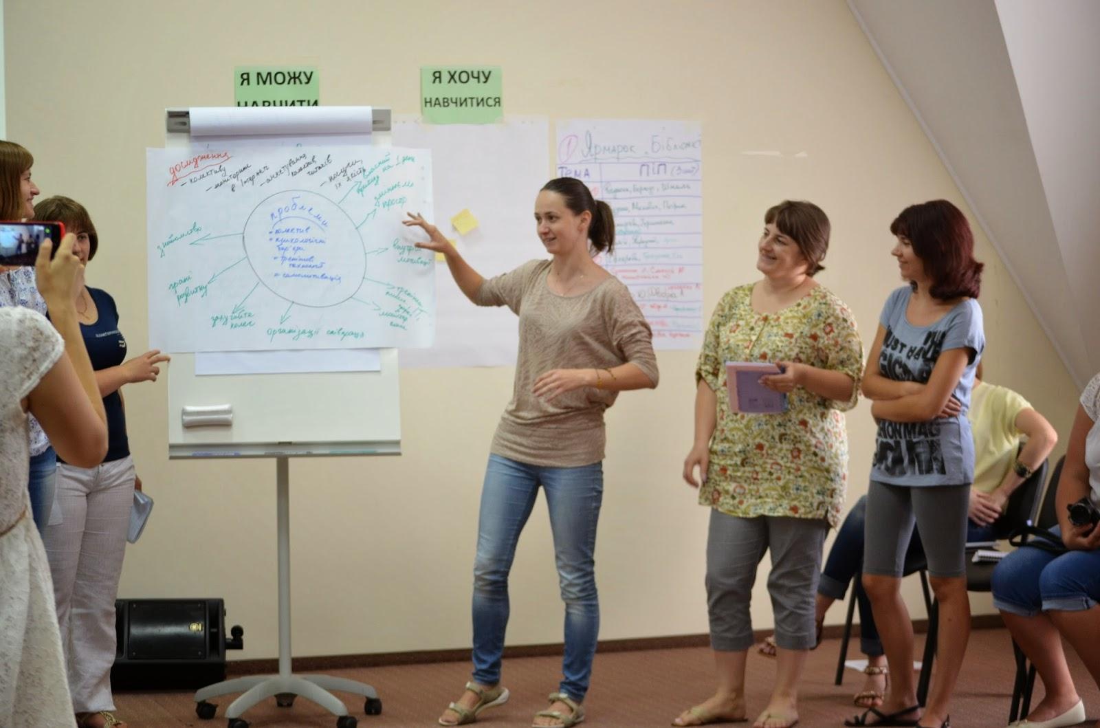 Робота в об'єднаних групах