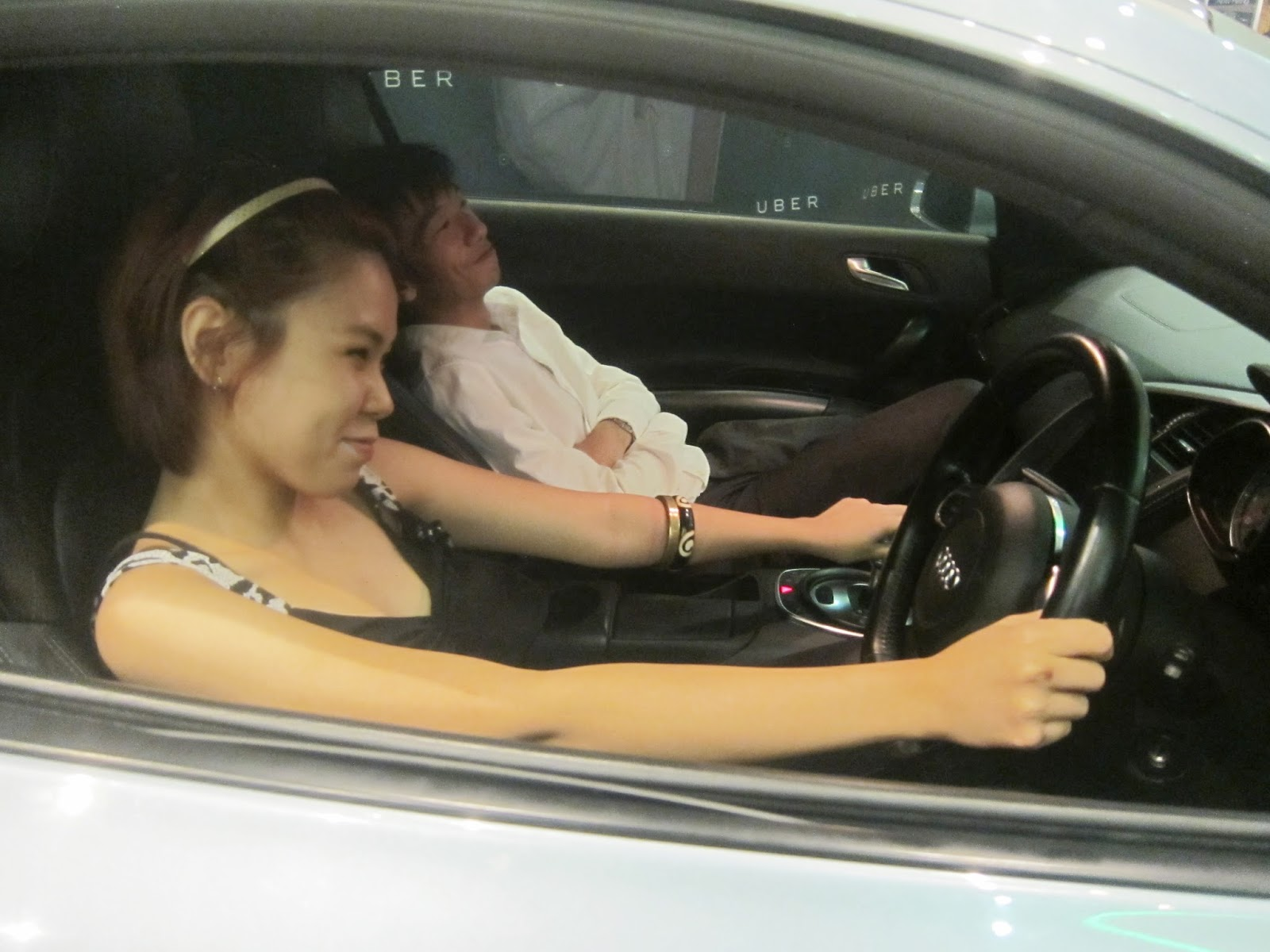 My Experience and What I think about Uber - Private Driver- Sherry Alyssa