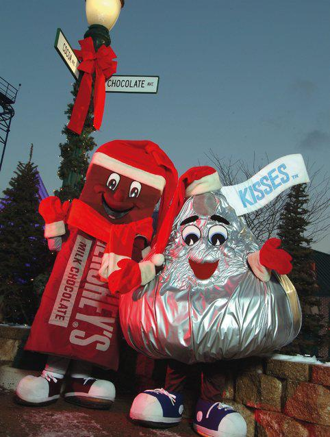 celebrate the holiday season at hershey park