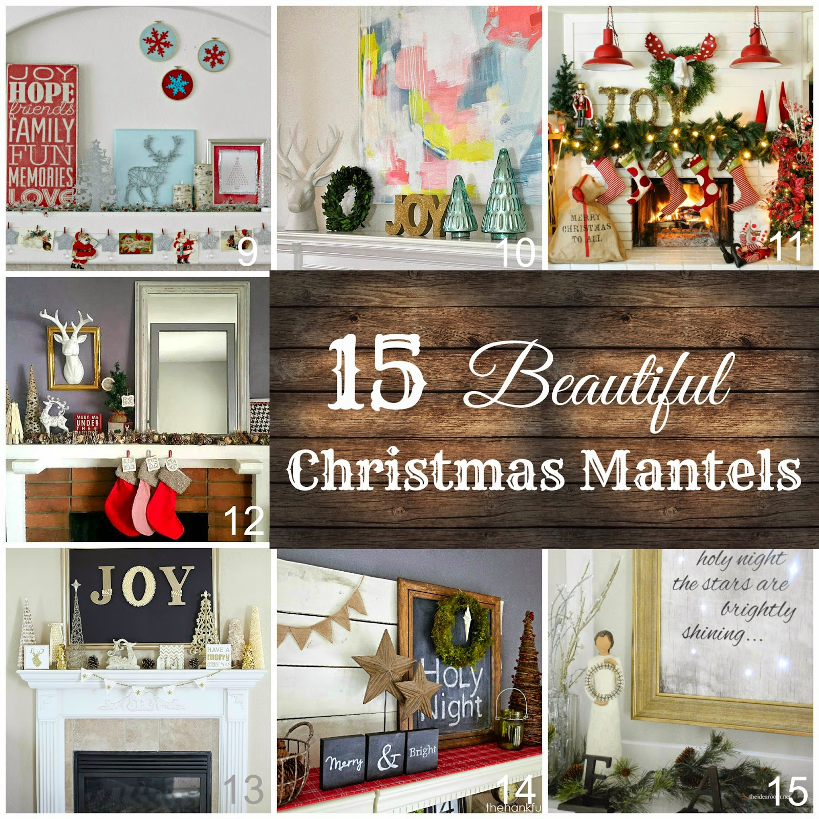 red blue silver christmas mantel organize and decorate everything - Beautiful Christmas Mantel Decorations