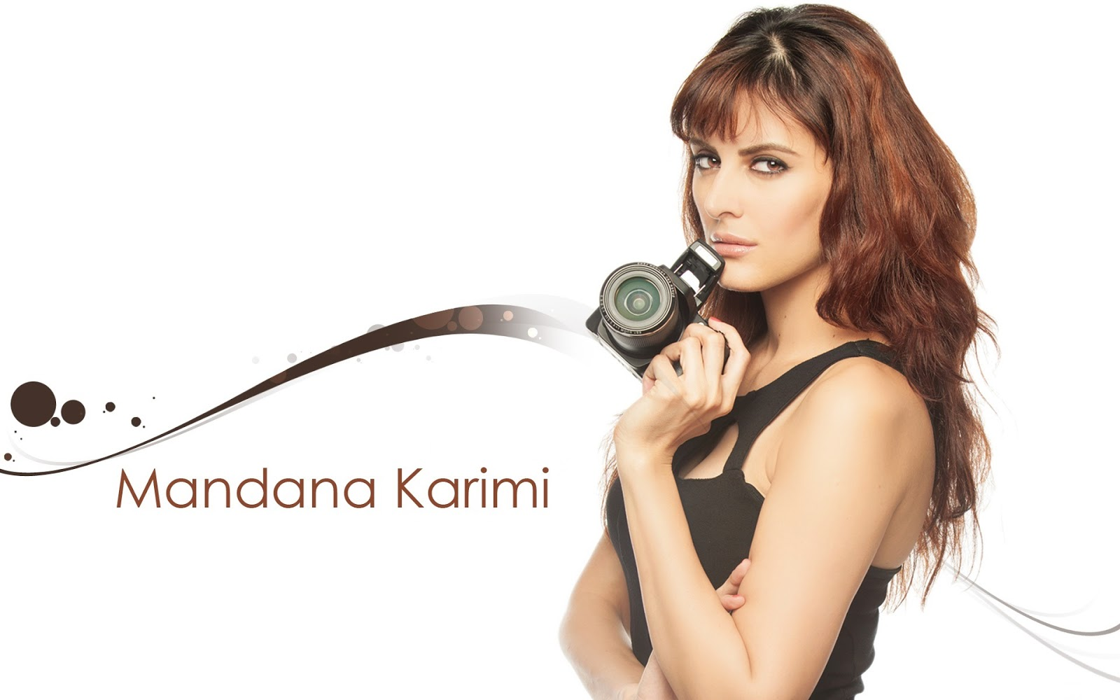 mandana karimi beautiful hd wallpaper