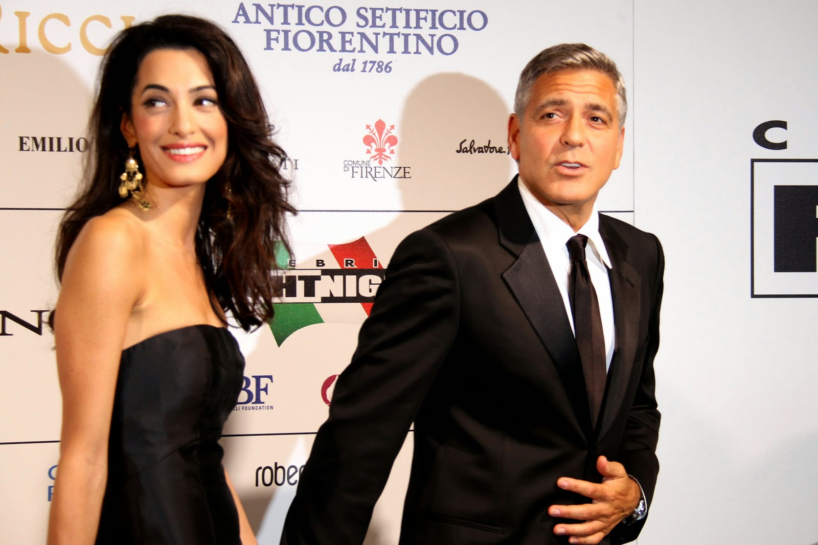 George Clooney and Amal Alamuddin HD Pictures