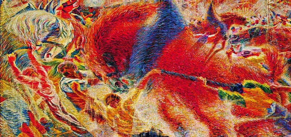 Boccioni Futurism Left Bank Art Blog: It...