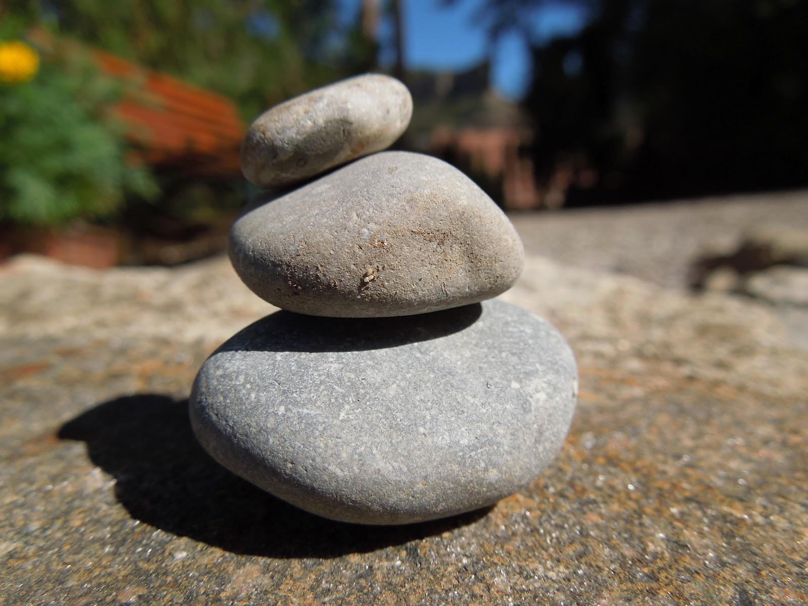 piedras en equilibrio - Piedras Zen