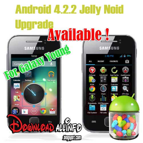 Cara Upgrade Samsung Galaxy Y GT-S5360 ke Android Jelly Bean 4.2 .