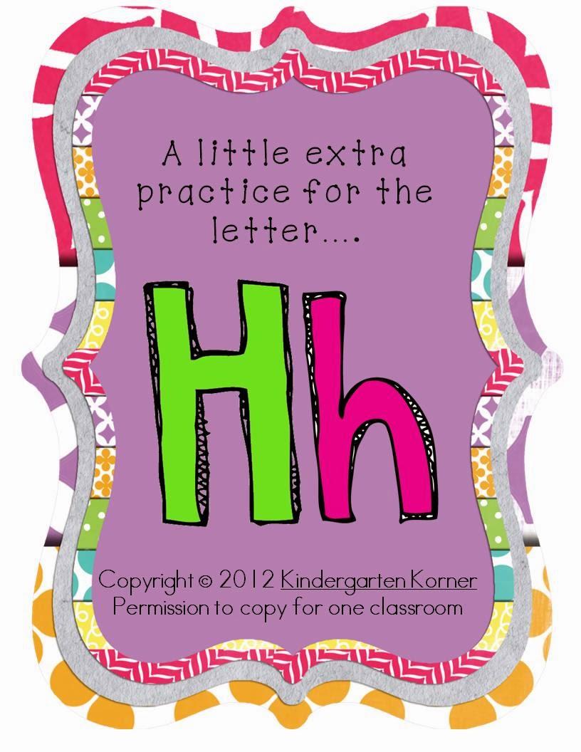 http://www.teacherspayteachers.com/Product/Letter-Hh-Practice-RTI-462119