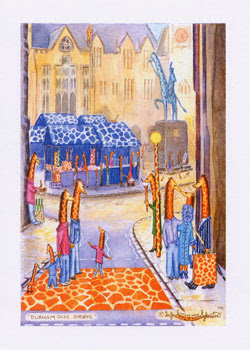 Durham Greeting Cards by North East UK artist Ingrid Sylvestre