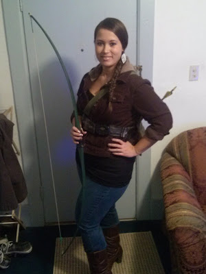 Hunger Games Halloween Costume - Katniss Everdeen