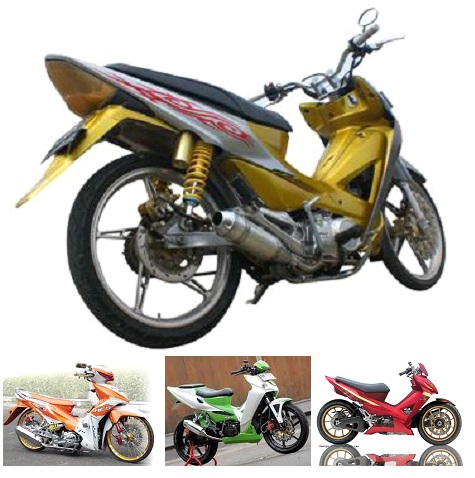 Modifikasi Honda Revo