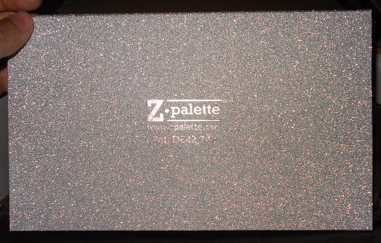 Silver Glitter Z Palettes