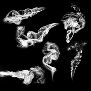 Free Smoke Brush for Ps