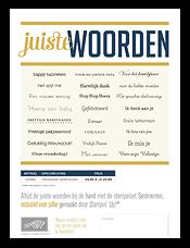 Nederlandse Stempelset