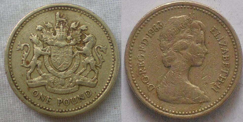 Cuba Journal: Great Britain issues New One Pound Coin