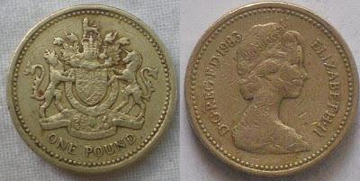 england 1 pound 1983