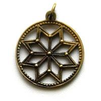 купить кулон языческий славянский символ алатырь