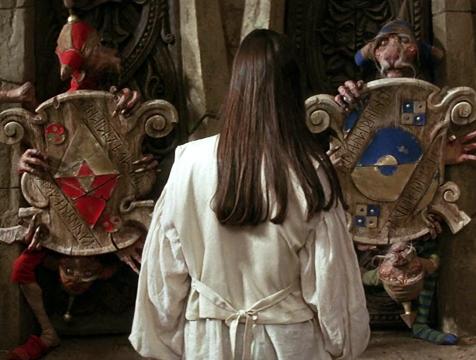 Los cuatro guardianes en Dentro del laberinto - Cine de Escritor