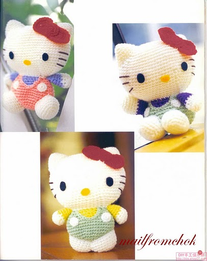 Kitty Bebe Amigurumi : MUNDO AMIGURUMIS CROCHET LOVE: KITTY BEBE
