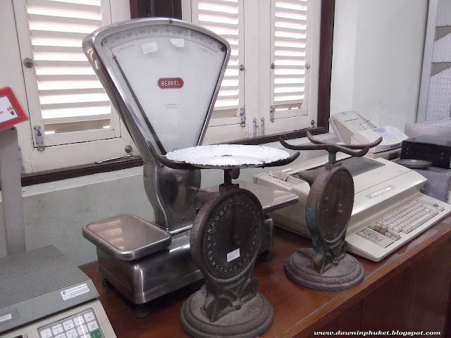 Berkel scales at Phuket Post Office Museum