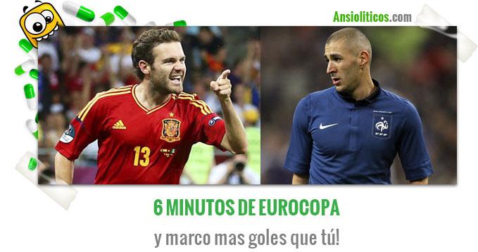 Chiste de la Eurocopa Juan Mata, más goles que Karim Benzema