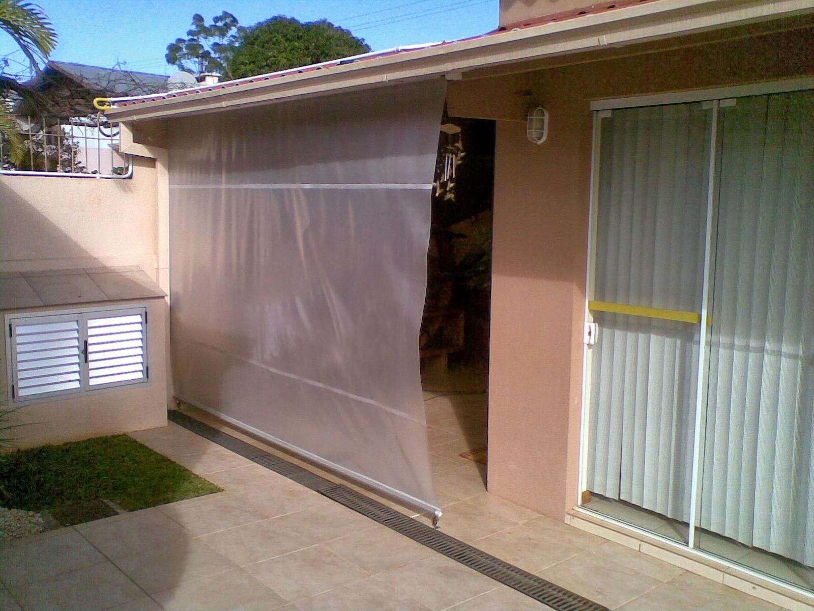 Transl cido ou transparente toldo retr til - Modelos de toldos para patios ...