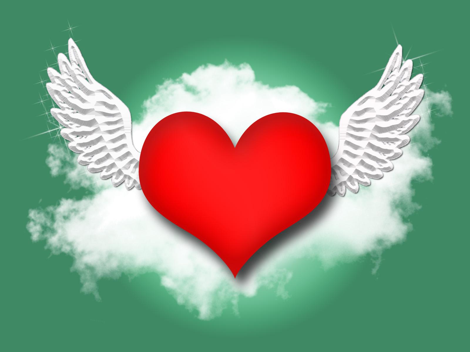 Corazón volando