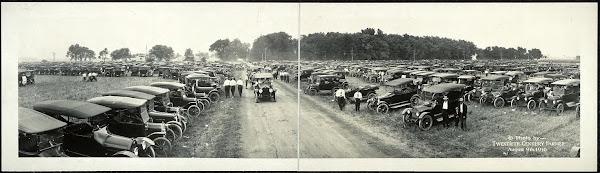 August 9, 1916, State Fair parking