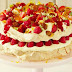 Red Berry, Star Anise and Almond Crunch Meringue Torte recipe