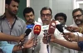 Tamil Nadu CM should back the golden days of Nadigar Sangam – Vishal & Naazer