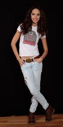 Camiseta Mili White