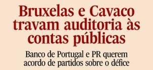 Cavaco Silva esconde saques