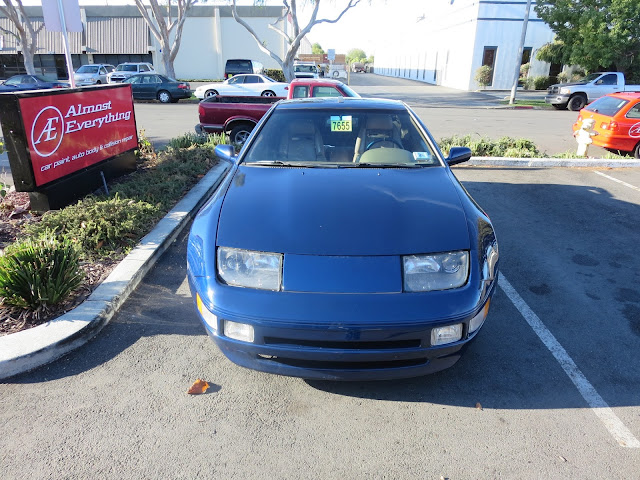 1995 300ZX after auto body repairs at Almost Everything Auto Body