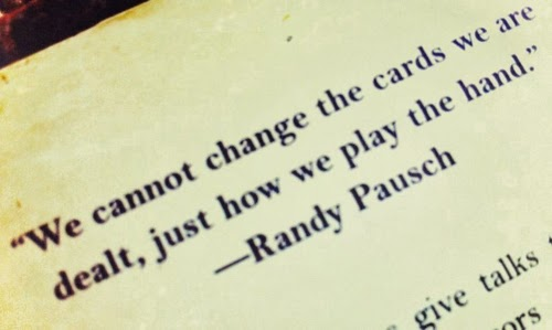famous quote by Randy Pausch