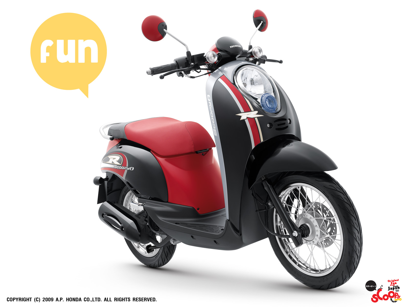 New Motorcycle Honda Scoopy New Car Concept