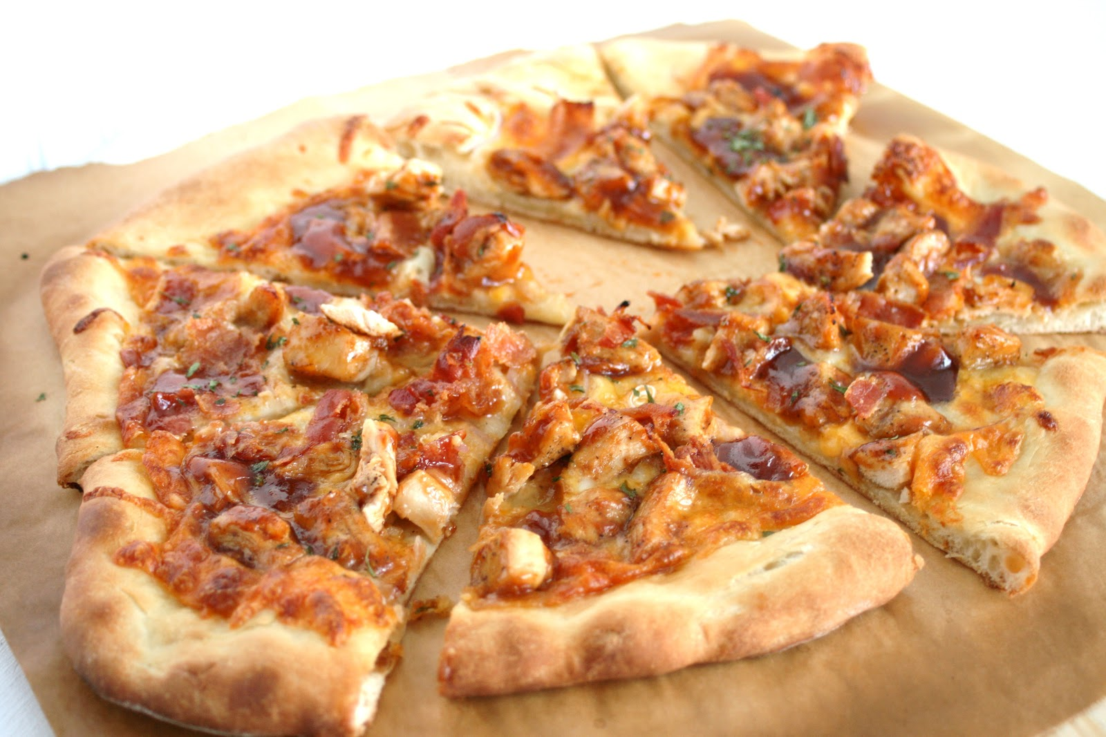 I Thee Cook: Barbecue Chicken Pizza