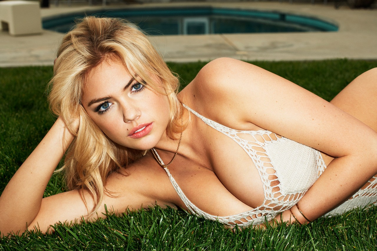 Kate Upton - Wet T-Shirt Photoshoot