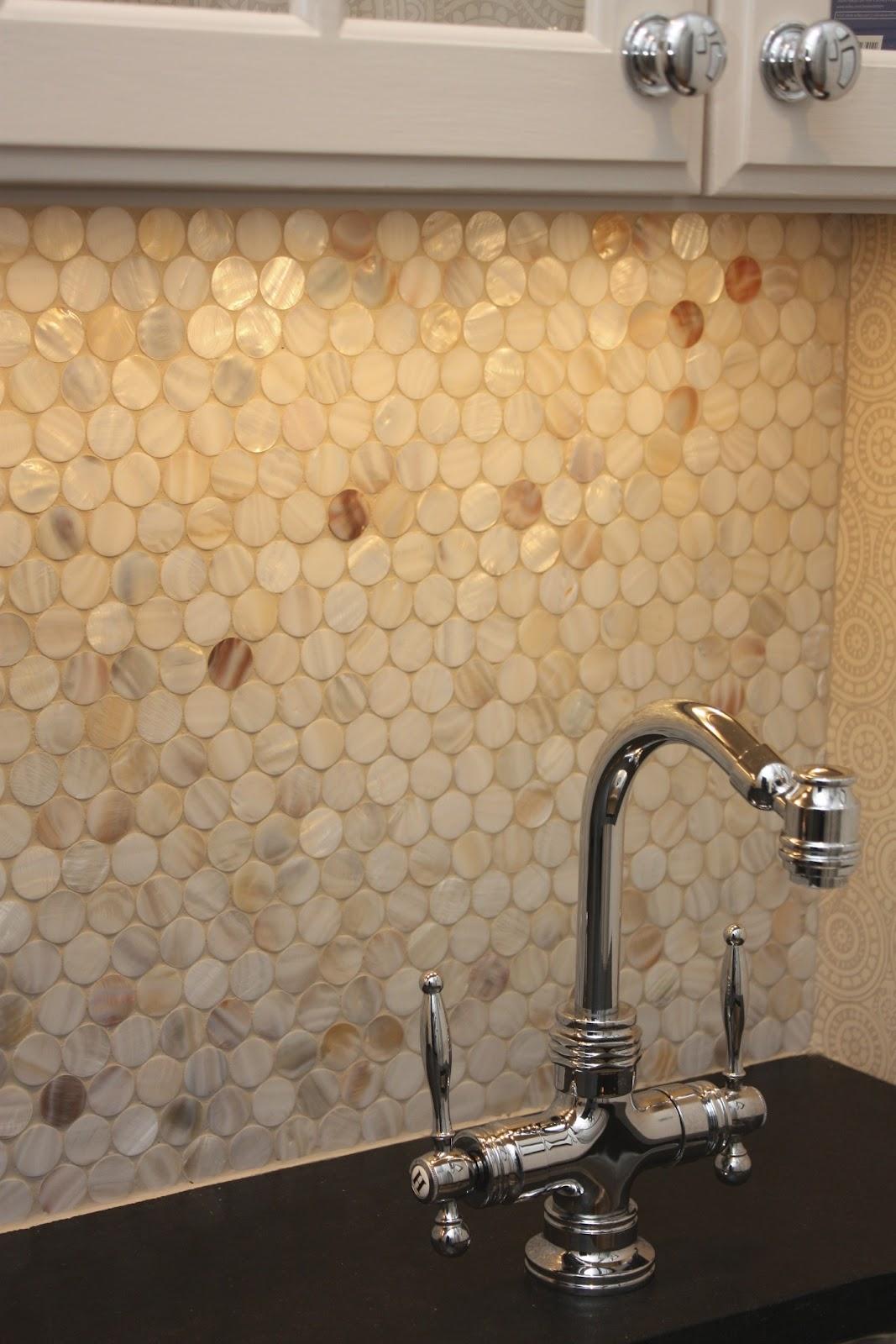 mother of pearl tile backsplash viewing gallery