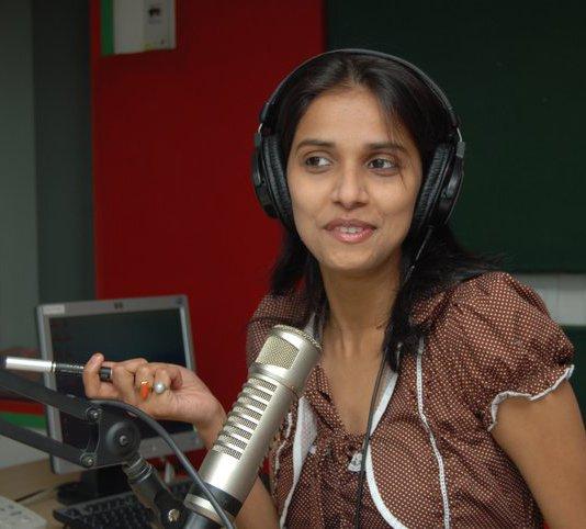 RJ Anjali 98.3 FM Radio Mirchi (Patna)