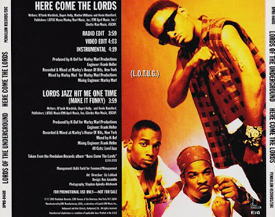 Lords Of The Underground – Here Come The Lords (Promo CDS) (1993) (320 kbps)
