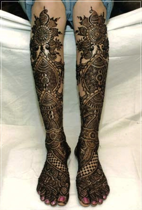 Mehndi Designs For Hands Amp Legs : Beautiful mehandi designs for feet and legs stylishwife