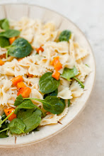 Farfalle Pasta with Roasted Butternut Squash and Caramelized Onions