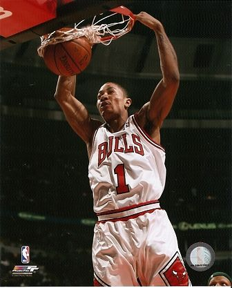 derrick rose chicago bulls dunk. As of this week the Chicago
