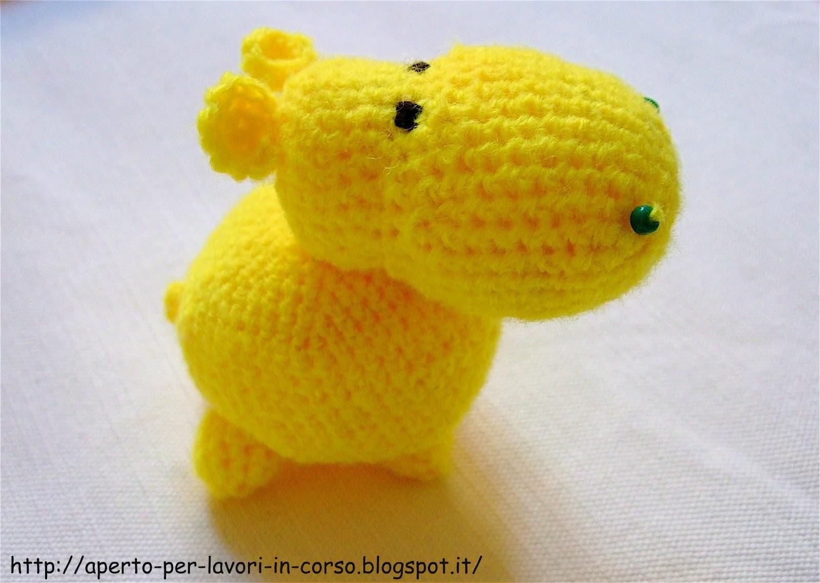 Ippopotamo Amigurumi Crochet : Il blog di Laura: Ippopotamo amigurumi
