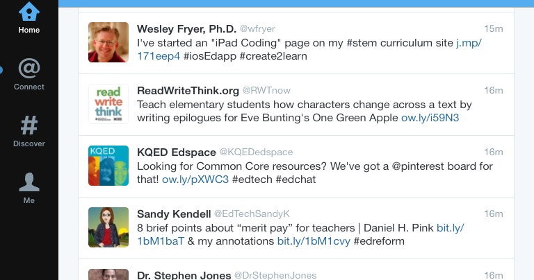 My Favorite Videos For Describing Educators' Professional Use of Twitter