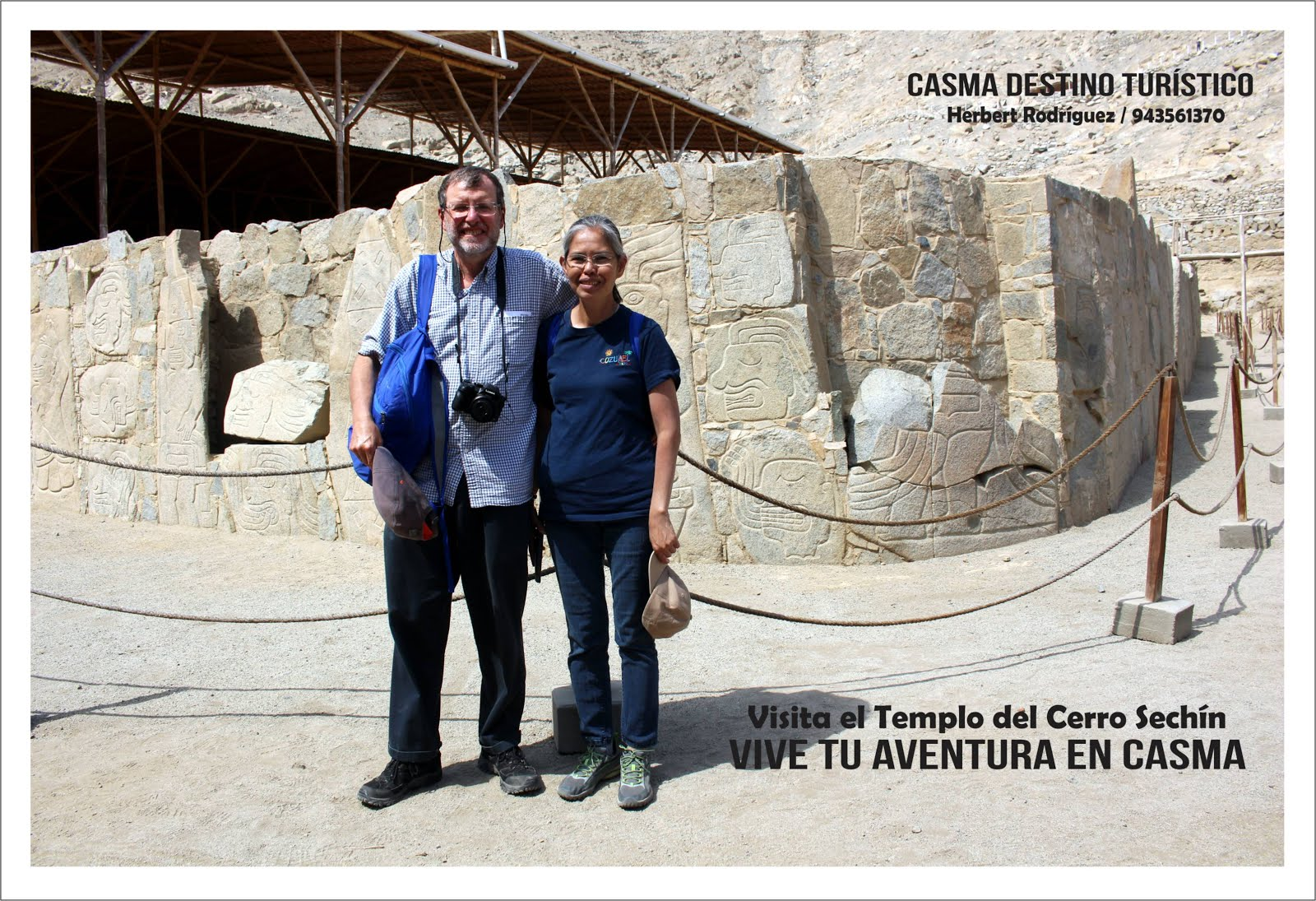 Visita el Templo del Cerro Sechín.