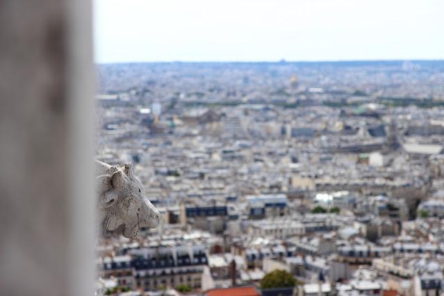 Parigi dalla cupola del Sacro Cuore