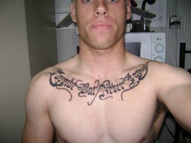 idée tatouage phrase homme - Phrase de tatouage