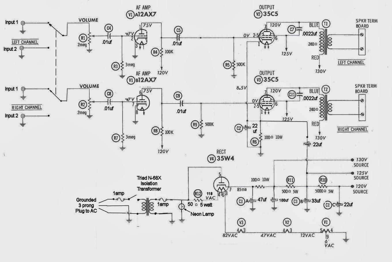 robert u0026 39 s tech blog   archer stereodyne  3 amplifier clone