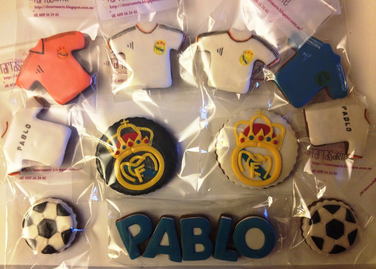 real madrid galletas, galletas real madrid,