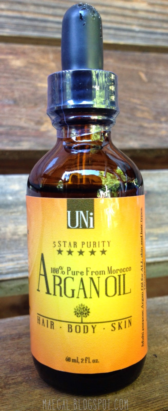 UNi Argan Oil | maegal.blogspot.com